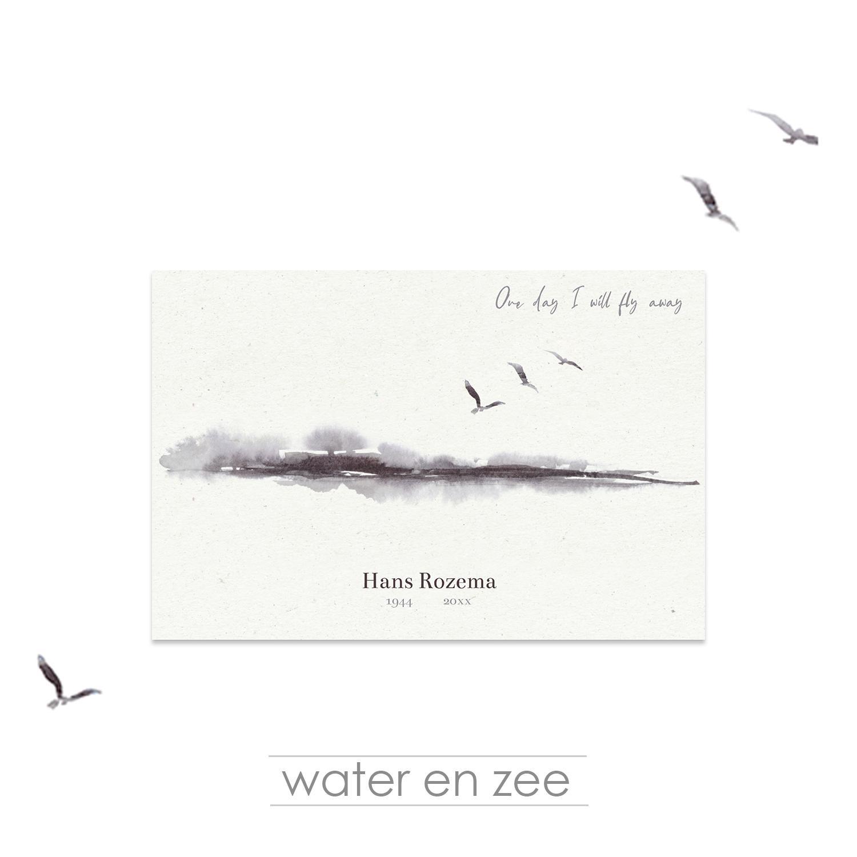 Wonderbaar Tekst Condoleancekaart XZ-08